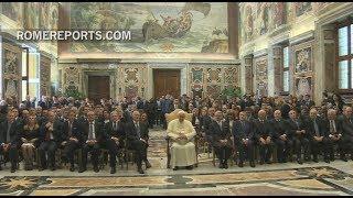 Romereports Vaticano Videos del Papa Francisco Homilias - El Papa a magistrados italianos: