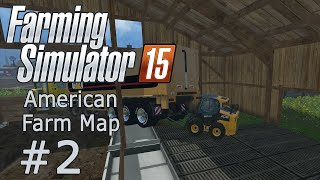 Farming Simulator 15 - American Farm Map Multiplayer - EP 2