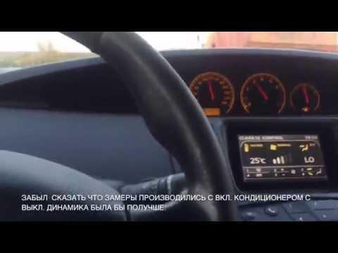 Nissan Primera - реальная динамика на 5 и 4 передачах.