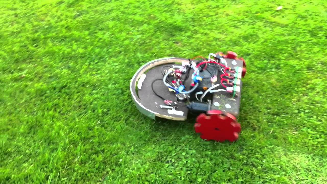 Diy Robot Lawn Mower Youtube