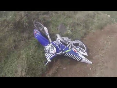 Kid blew up his yz125