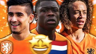FUTURE OF THE NETHERLANDS!!! UNUVAR, BROBBEY & SIMONS FIFA 19 CAREER MODE GROWTH TEST!!!