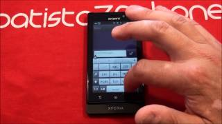 Video Recensione Sony Xperia Sole da batista70phone