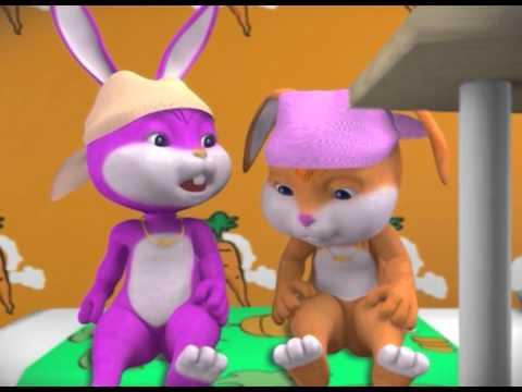 "Film Animasi 3d,  Serial Happy Holy Kids, ""RAJIN GOSOK GIGI"""