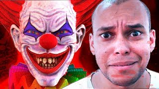 TERROR COM PALHAÇOS ASSASSINOS ! - Scary Clown Survival