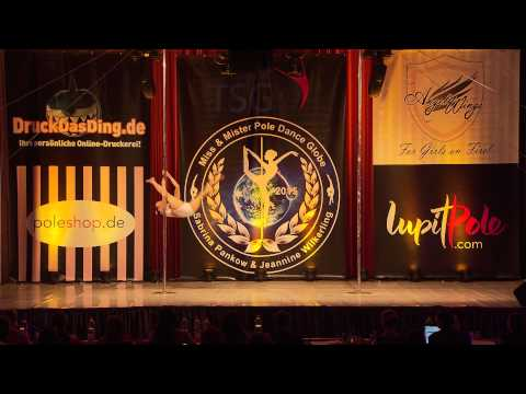 Miss & Mister Pole Dance Globe 2015 - Ya Ju Yang - Finalist - Professional Women