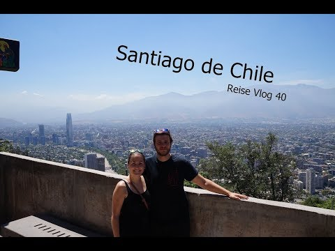 Wunderschöne Orte in Santiago de Chile - Reise Vlog 40