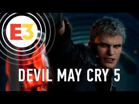 Devil May Cry 5. Геймплей для фанатов серии!