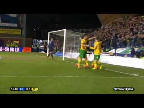 Kilmarnock vs Celtic • 0-3 • Scottish Championship • 14 03 2014 • Kris Commons  Hat Trick