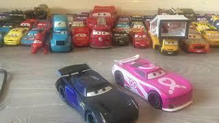 Cars 3 Champion version Jackson storm Toy Review Disney store