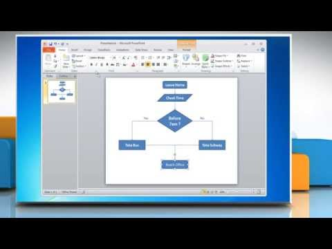 Animated Flow Chart Diagram PowerPoint Template  FPPT