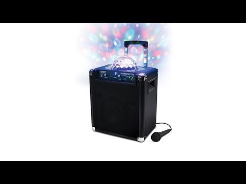 ION Block Party Live Bluetooth Speaker with Party Lights