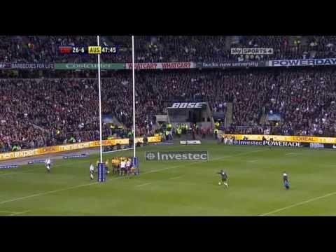 Chris Ashton try vs Australia - Nov 2010