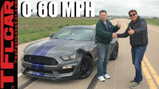 2016 Ford Mustang Shelby GT350: Run What You Brung Mile High 0-60 MPH Challenge
