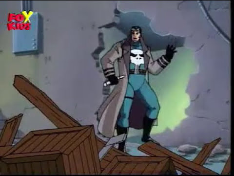 Spiderman the Animated Series - The Punisher