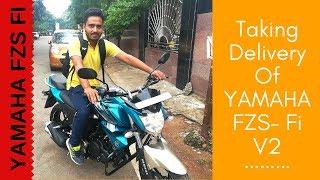 New Bike Purchase 2018-19: YAMAHA FZS Fi V2