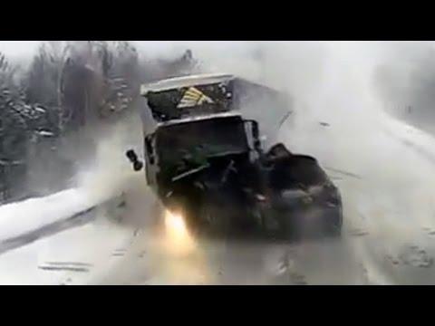 Происшествия на дорогах, страшные аварии, аварии и ДТП с видеорегистратора! #16