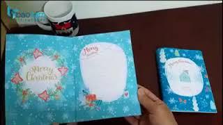 Thiệp nhạc Giáng Sinh (Noel)  - Merry Christmas Card 2017 - 2018