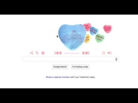 Google Doodle Valentines Day 2014