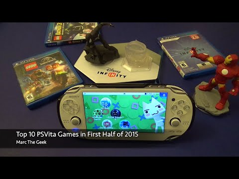 Top 10 PSVita Games in First Half 2015