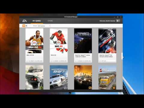 My EA Account EA Download Manager Collection April 2011