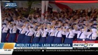 Download Lagu Lagu-lagu Nusantara Upacara HUT RI ke-70 di Istana Negara Gratis STAFABAND