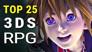 Top 25 Best 3DS RPG Games