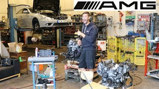 Mercedes Benz CLS/E55 AMG M113k engine replacement