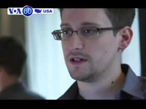 New York times and Guardian newspapers argue for clemency for Edward Snowden- VOA60 America