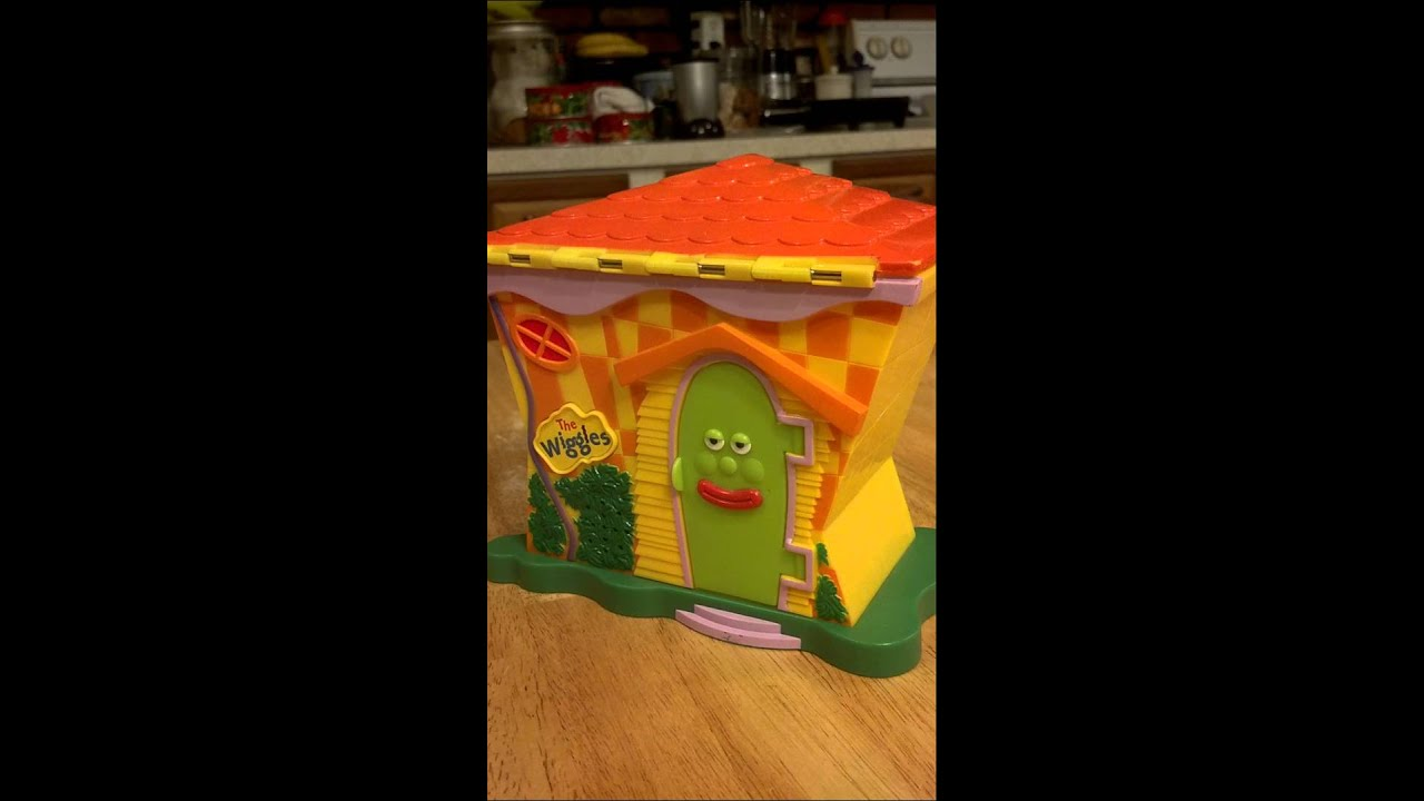 The Wiggles Talking House Playset Toy Youtube