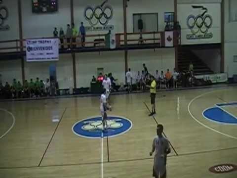 2012 IHF Team Handball Challange Throphy  Mexico Vs Canada 2/13