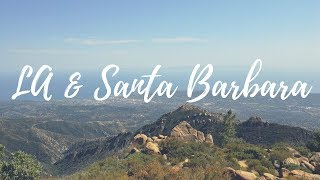 LA & Santa Barbara California Travel Vlog - Shot with Huawei Mate 9