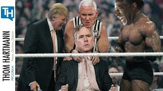 How Trump's Pro Wrestling Strategy Turned Politics Into a Cage Fight