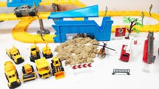 Đồ chơi trẻ em xe công trình, xe cứu hoả, xe cẩu, xe xúc, xe tải (Xe cho bé)