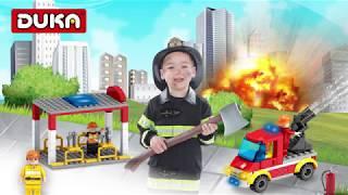 Đồ chơi ghép hình Lính cứu hỏa - bé tập làm chú lính cứu hỏa anh dũng