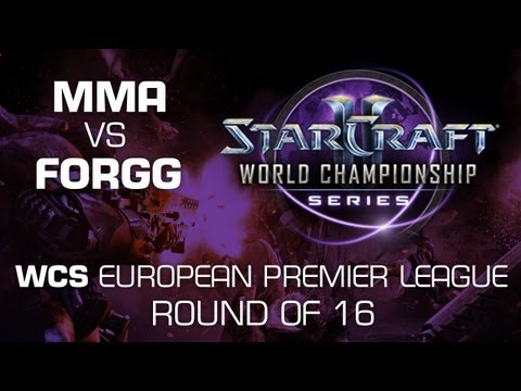 ForGG vs. MMA - Group A Ro16 - WCS European Premier League - StarCraft 2