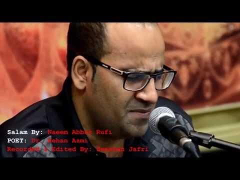 Naeem Abbas Rufi   Bahaa Ke Ansoo   12th Moharram 1437
