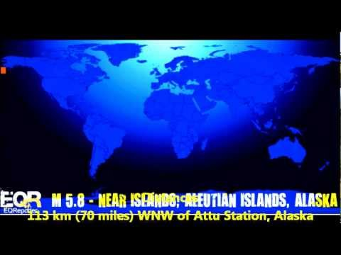 M 5.8 EARTHQUAKE - NEAR ISLANDS, ALEUTIAN ISLANDS, ALASKA 06/19/12