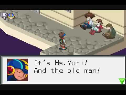 Let's Play Megaman Battle Network - Day 7 Pt 2 - What, No Map with Beeping Paths?