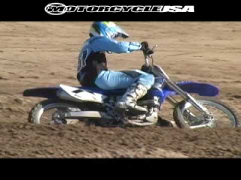 2009 Yamaha YZ450F Motocross Dirt Bike Comparison Video