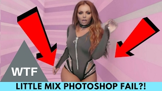 WTF! Little Mix Fans Pissed Over Jesy Nelson Photoshop Fail!