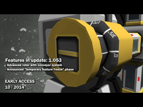 Space Engineers - Advanced rotor block, Sound modding