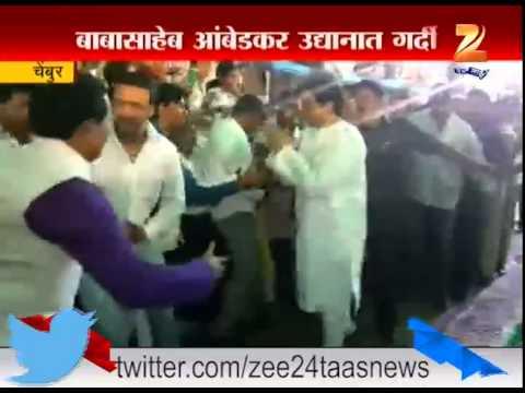 Chembur : MNS Raj Thackeray At BR Ambedkar Birth Anniversary