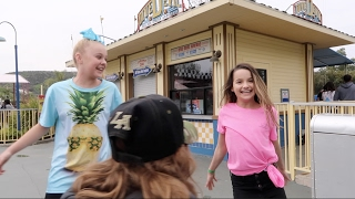 Hanging at Six Flags with JoJo Siwa, Rebecca Zamolo, & Matt Slays (WK 318.5) | Bratayley