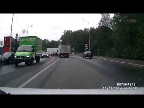 Авария  15 08 14 Санкт Петербург