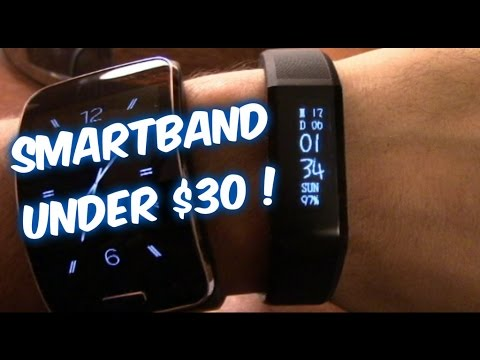 Vidonn X6 SMARTBAND Fitness watch  REVIEW