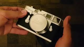 Leica M3 DS Film Unloading