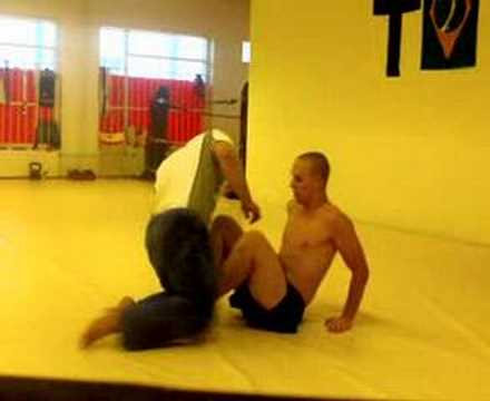 X-guard kneebar Image 1
