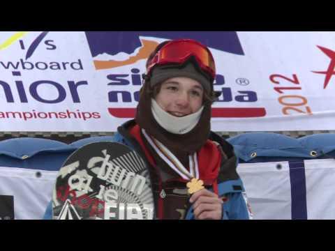 Final SlopeStyle Mundial Junior Snowboard Sierra Nevada