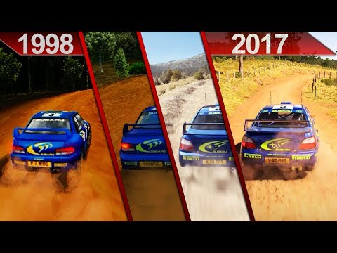 Evolution of Colin McRae Rally / DiRT | PC | ULTRA | 1998 - 2017